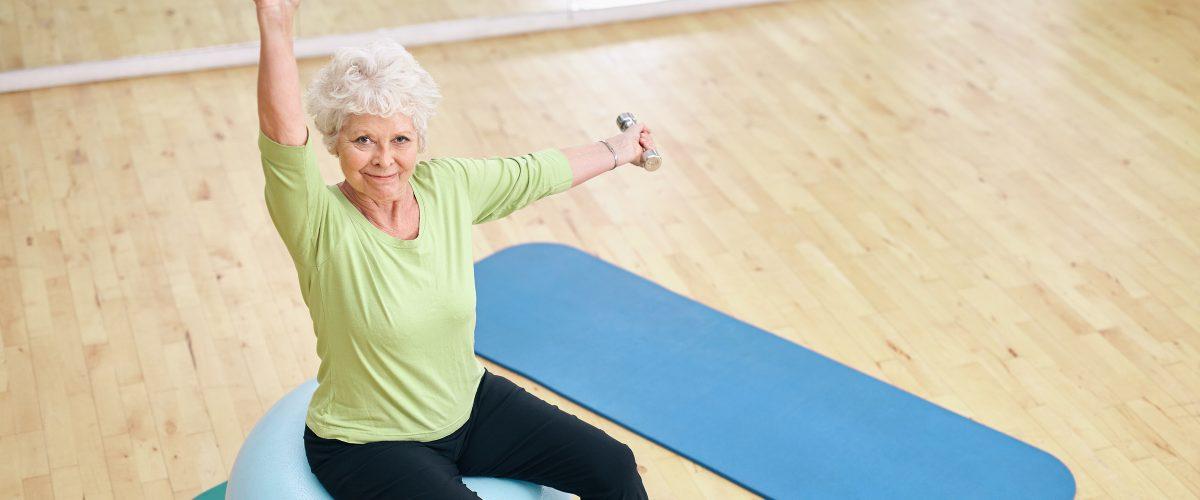 Musculação terapêutica para a terceira idade