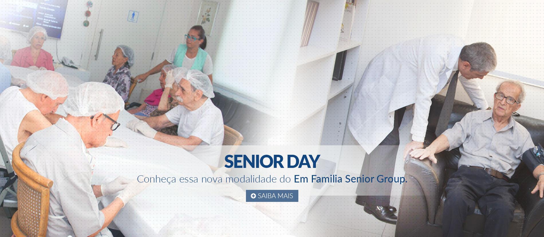 Senior Day Casa de Repouso para Idosos