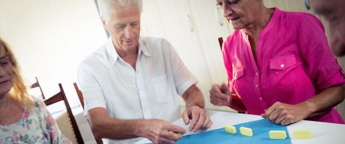 Atividades Terapêuticas e Entretenimentos oferecidos em Residências Sêniors